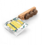 Natural Bristle & Olive Wood Nail Brush